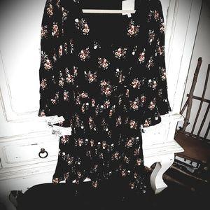 Fit flare floral festival dress